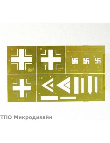 Микродизайн 100207 Трафарет...
