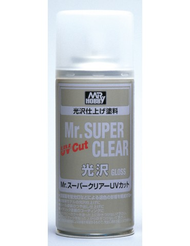 Gunze Sangyo Mr.Hobby B-522 Mr.Super Clear UV Cut Gloss 170мл