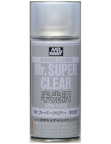 Gunze Sangyo Mr.Hobby B-516 Mr.Super Clear Semi-Gloss 170мл