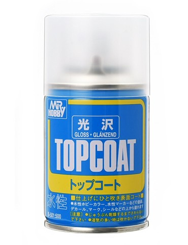 Gunze Sangyo Mr.Hobby B-501 Topcoat Gloss Spray 86мл