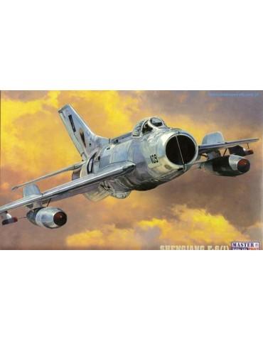 Mistercraft C-60 Самолет МиГ-19С/Shengjang F-6 1/72