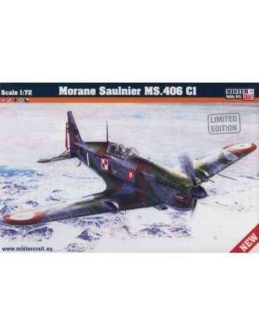 Mistercraft D-206 Morane Saulnier MS.406 C1 Limited Edition 1/72