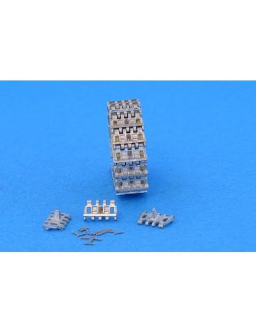 Masterclub MTL-35178 Металлические траки для M13/40 1/35