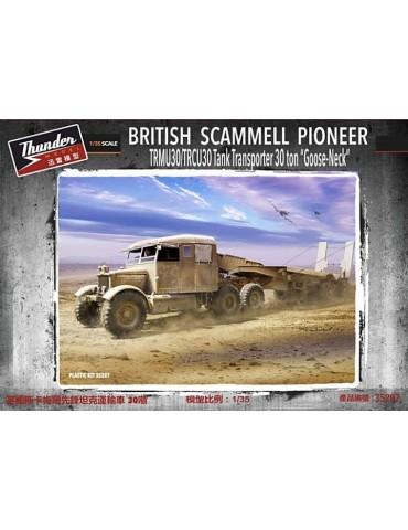 "Thunder Model 35207 British Scammell Pioneer TRMU30/TRCU30 Tank Transporter 30 ton ""Goose Neck"" 1/35"