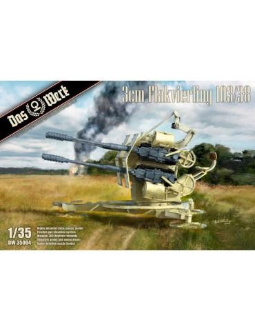 Das Werk DW35004 3cm Flakvierling 103/38 1/35