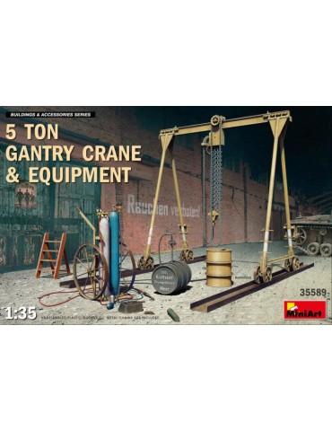MiniArt 35589 5 Ton Gantry...