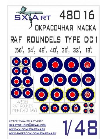 SX-Art 48016 RAF ROUNDELS...