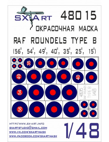 SX-Art 48015 RAF ROUNDELS...