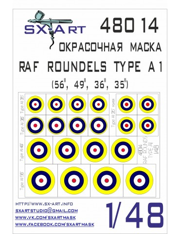 SX-Art 48014 RAF ROUNDELS...