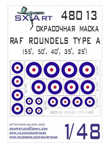 SX-Art 48013 RAF ROUNDELS...