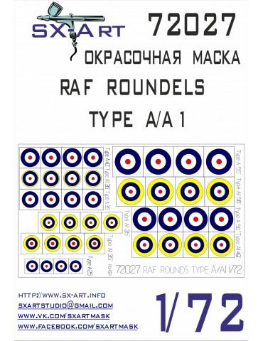 SX-Art 72027 RAF ROUNDELS...