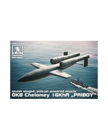 "Brengun BRP48001 OKB Chelomey 16KhA ""PRIBOY"" missile 1/48"