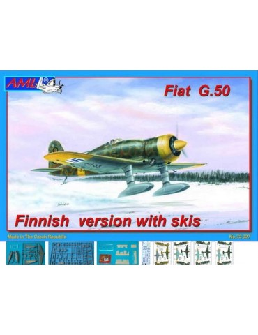AML 72027 Fiat G.50 Finnish version with skis 1/72