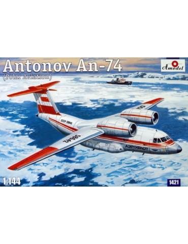 Amodel 1421 Ан-74 1/144