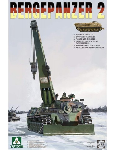 Takom 2122 Bergepanzer 2...