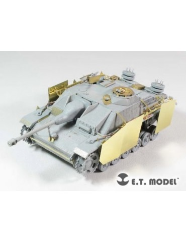 E.T.Model E35-228 German StuG.III Ausf.G Schürzen Late version 1/35