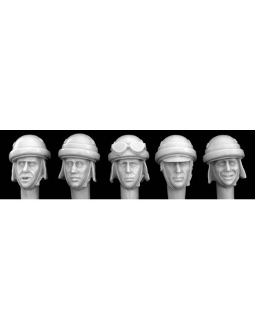 Silver HIH02 5 heads,...