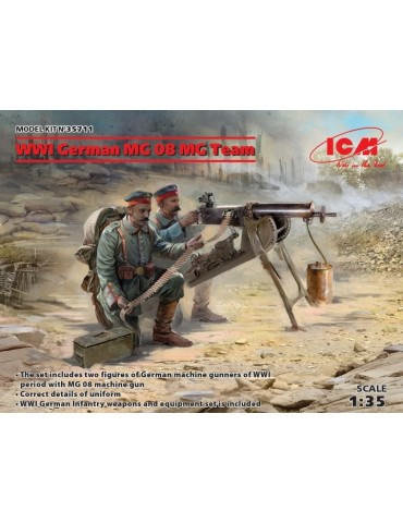 ICM 35711 WWI German MG08...