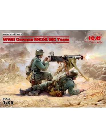 ICM 35645 WWII German MG08...