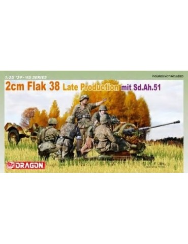Dragon 6546 2 cm FlaK 38...