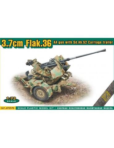 ACE 72570 3,7cm Flak 36/37...