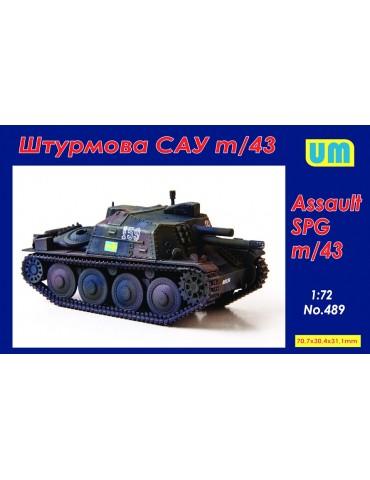 UM 489 Assault SPG m/43 1/72