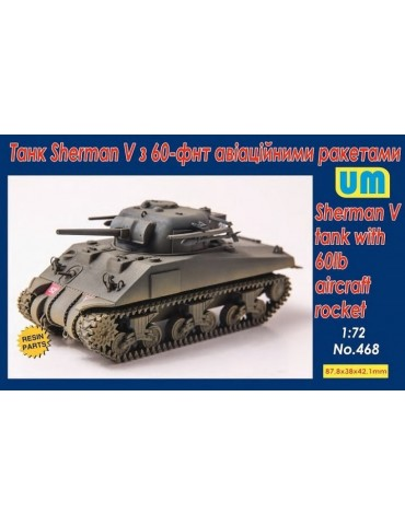 UM 468 Sherman V tank with...