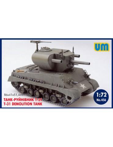 UM 456 T-31 Demolition tank...