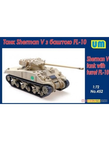 UM 452 Sherman V tank with...
