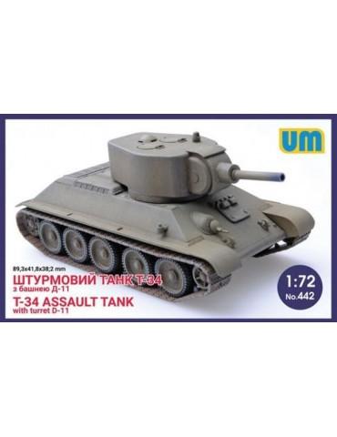 UM 442 Штурмовой танк Т-34...