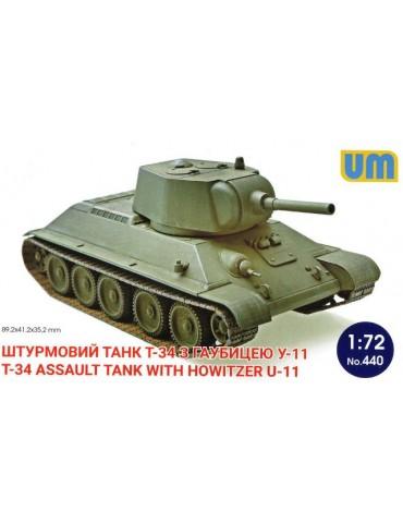 UM 440 Штурмовой танк Т-34...
