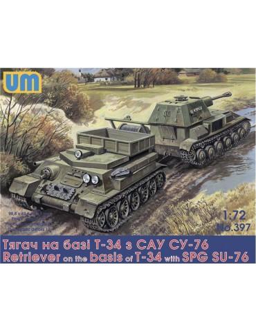 UM 397 Тягач на базе Т-34 с...