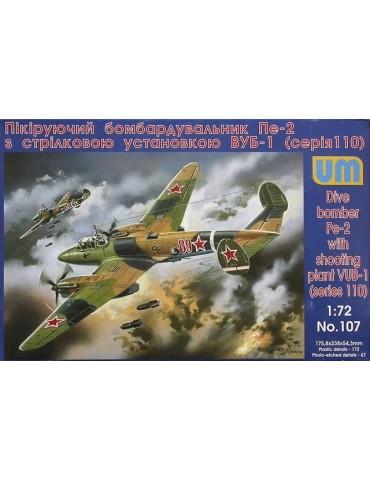 UM 107 Dive bomber Pe-2...
