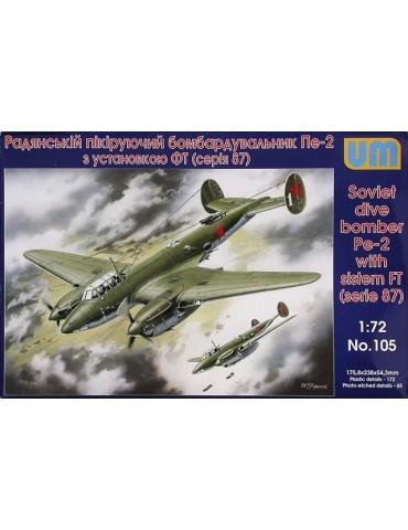 UM 105 Dive Bomber Pe-2...