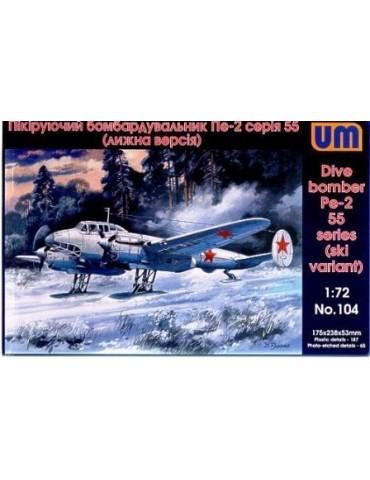 UM 104 Dive Bomber Pe-2 ski...