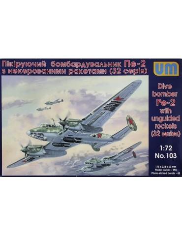 UM 103 Dive Bomber Pe-2 1/72