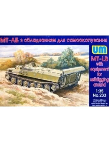 UM 233 MT-LB with equipment...