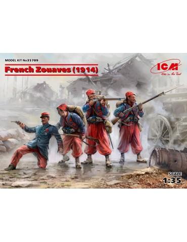 ICM 35709 Французские зуавы...