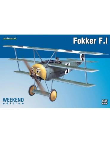 Eduard 8493 Fokker F.I...