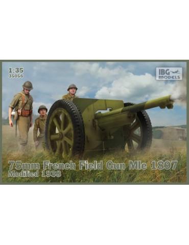 IBG Models 35056 75mm French Field Gun Mle 1897 Modified 1938 1/35