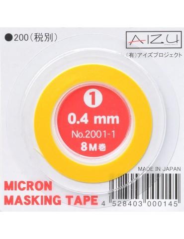Aizu Project 2001-1 Micron Masking Tape (0.4 mm)