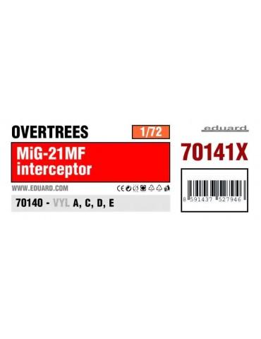 Eduard 70141X МиГ-21МФ Overtrees 1/72