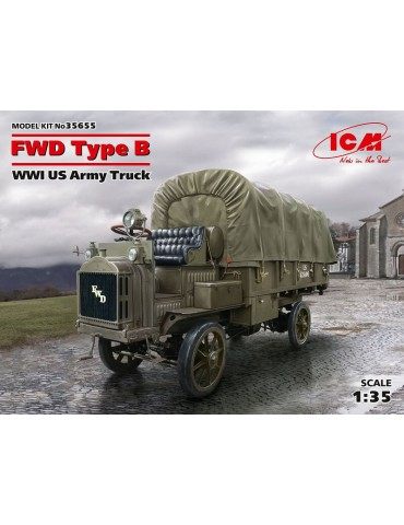ICM 35655 WWI US Army Truck...
