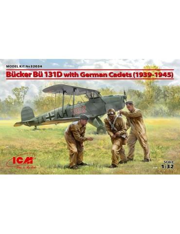 ICM 32034 Bücker Bü 131D с...