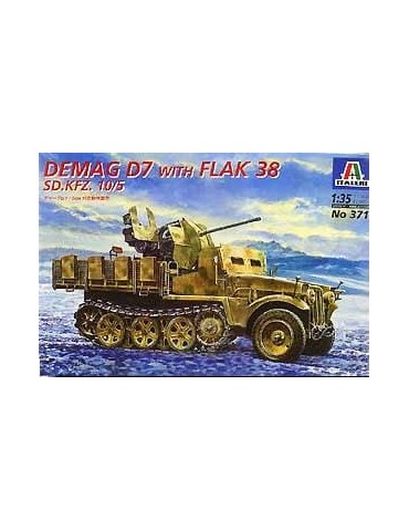 Italeri 371 Demag D7 with...