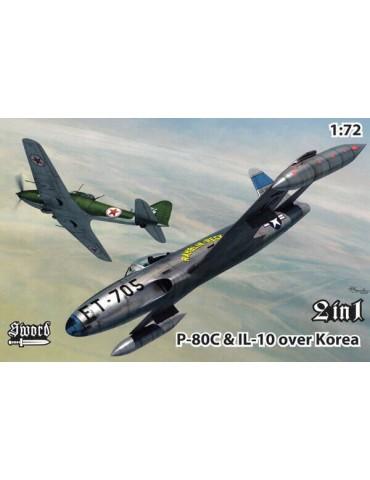 Sword 72128 P-80C vs IL-10...