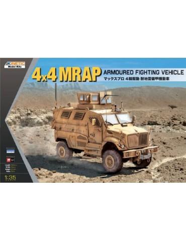 Kinetic K61011 4x4 MRAP ARMOURED FIGHTING VEHICLE 1/35