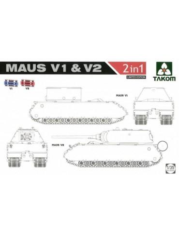 Takom 2050X Maus V1 & V2 (2...