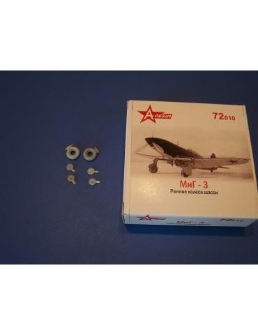 A-Resin 72010 МиГ-3 колеса...