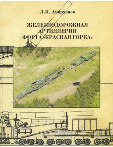 """Железнодорожная артиллерия форта """"Красная Горка"""" Амирханов Л. И."""
